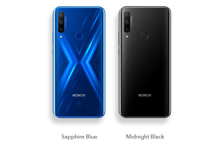 Neues HONOR 9X Smartphone mit FullView-Display und Dreifachkamera