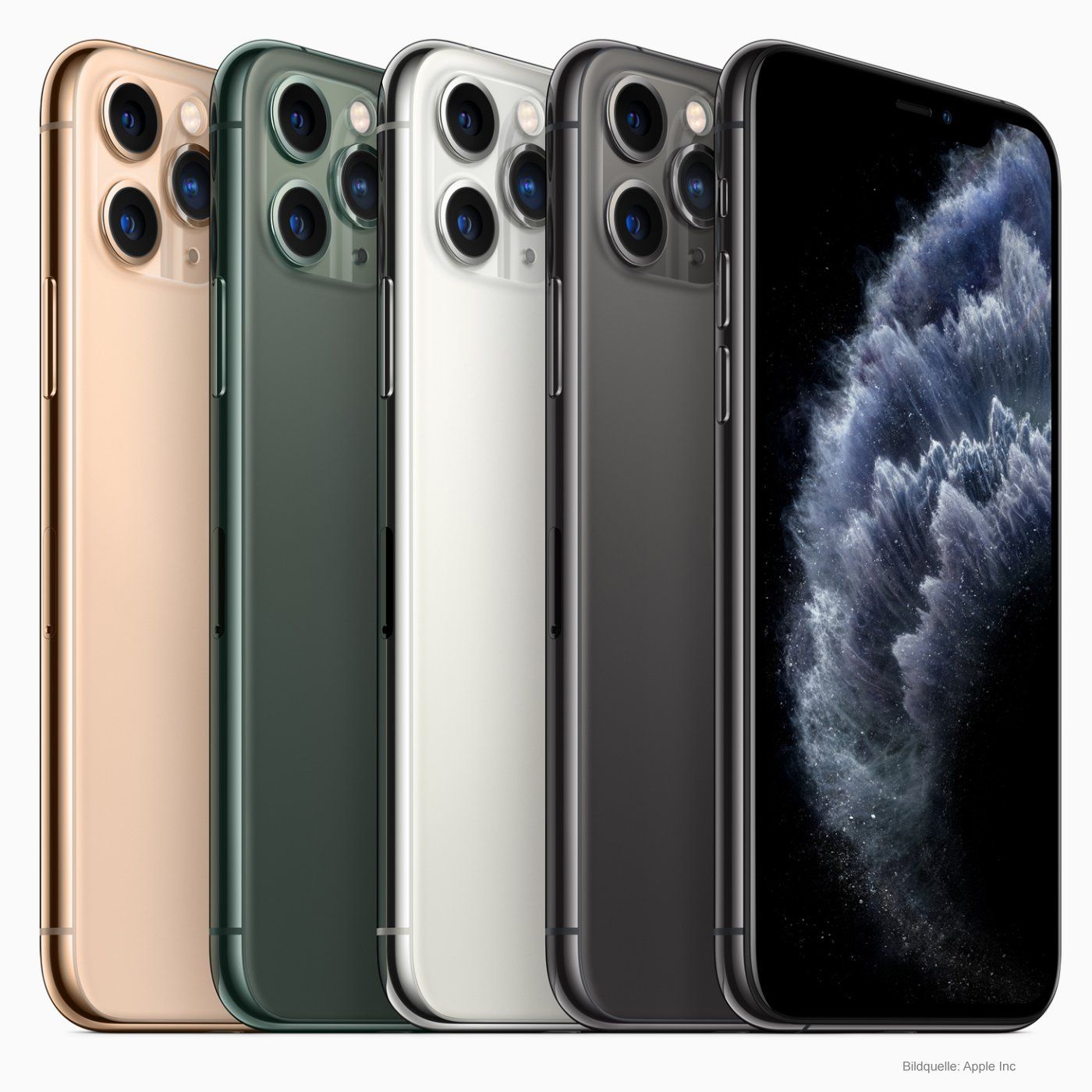 Apple iPhone 11 Pro Smartphone Farben