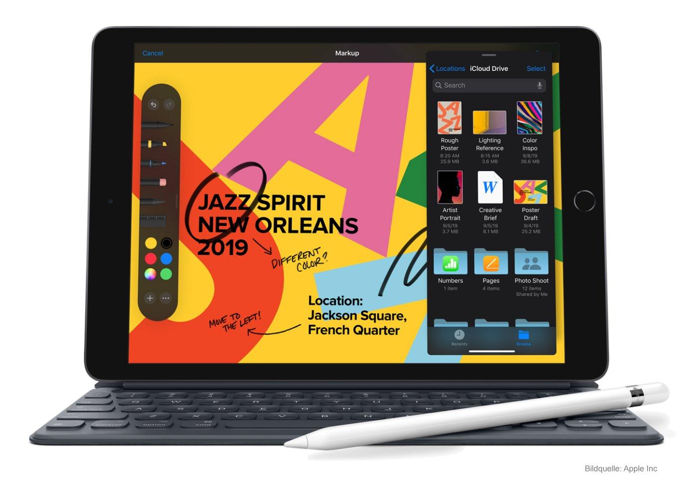 Das neue Apple iPad 7 Tablet