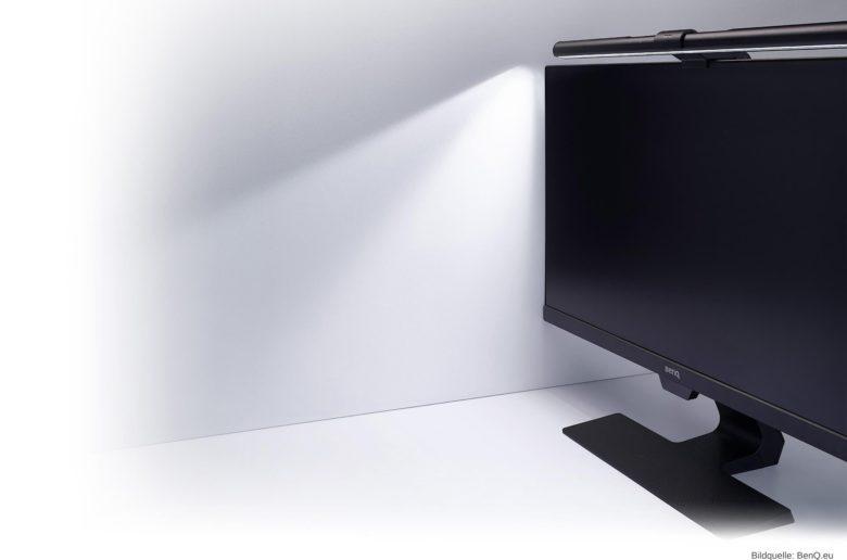 BenQ ScreenBar LED-Schreibtischlampe im Test