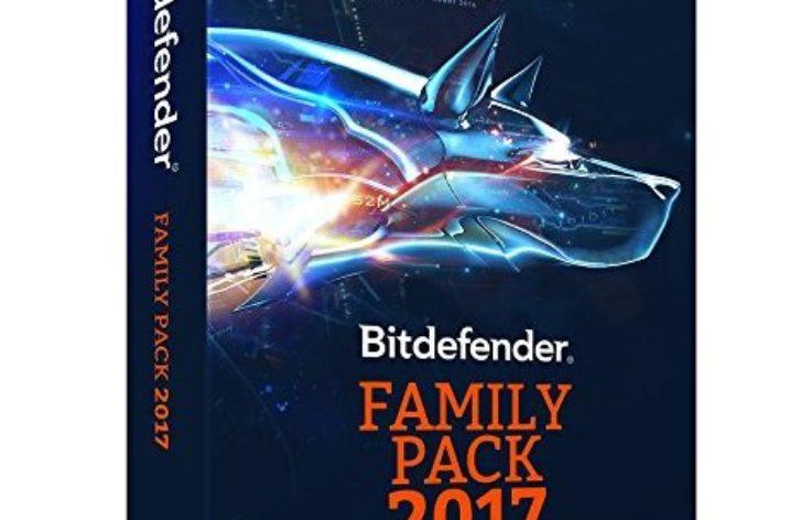 Bitdefender Family Pack 2017 Sicherheitspaket