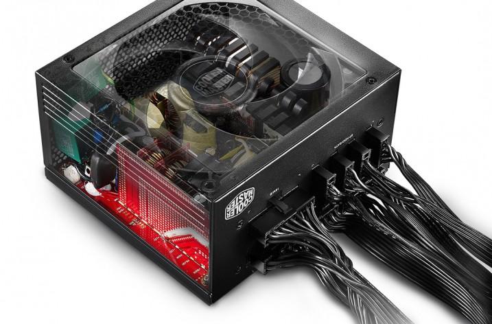 Cooler Master: leistungsstarke leise V-Netzteile für Gamer