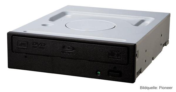 Blu-Ray Brenner Pioneer BDR-208DBK