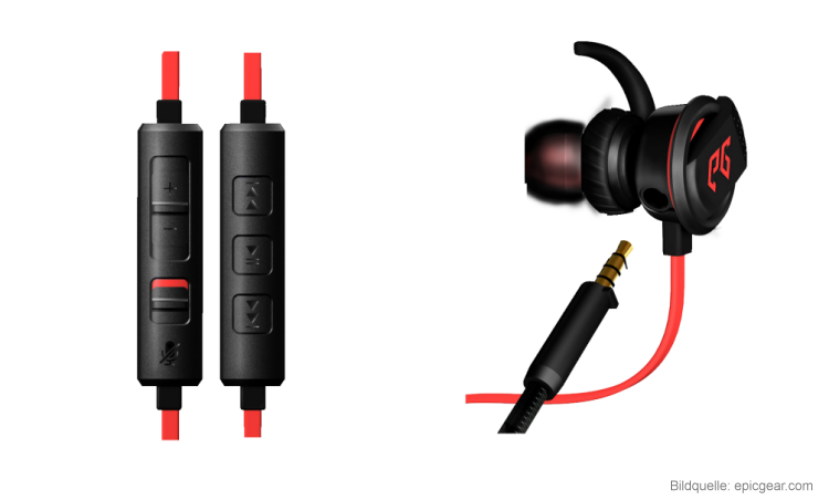 Epicgear Melodiouz In-Ear-Gaming-Headset