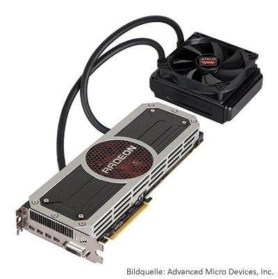 Grafikkarte AMD Radeon R9-295X2
