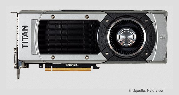 Grafikkarte Nvidia Geforce GTX Ttitan-Black