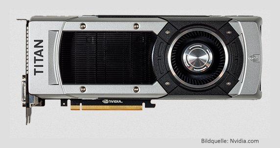 Grafikkarte Nvidia Geforce GTX Ttitan-Black