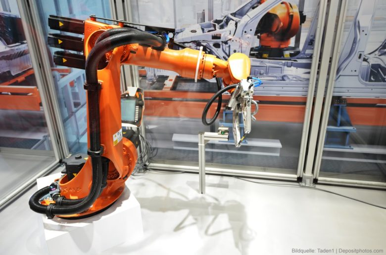 Industrie-Roboter-Herstellung