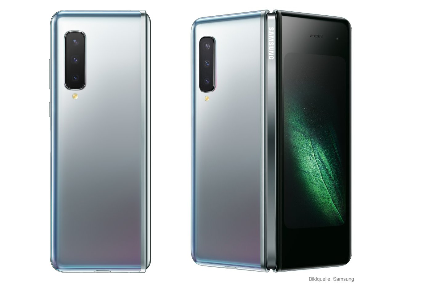 Samsung Galaxy Fold 5G faltbares Smartphone