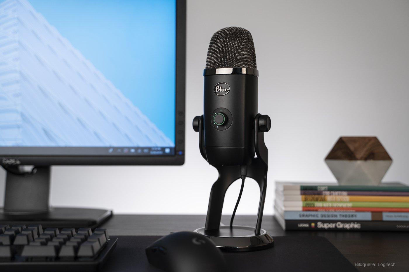 Blue Yeti X professionelles USB-Mikrofon für Gamer und Streamer