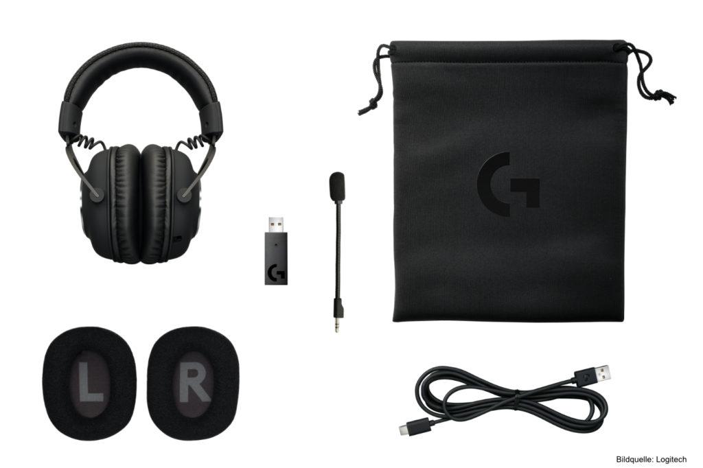 Logitech-G-kabelloses-PRO-X-Gaming-Headset SET
