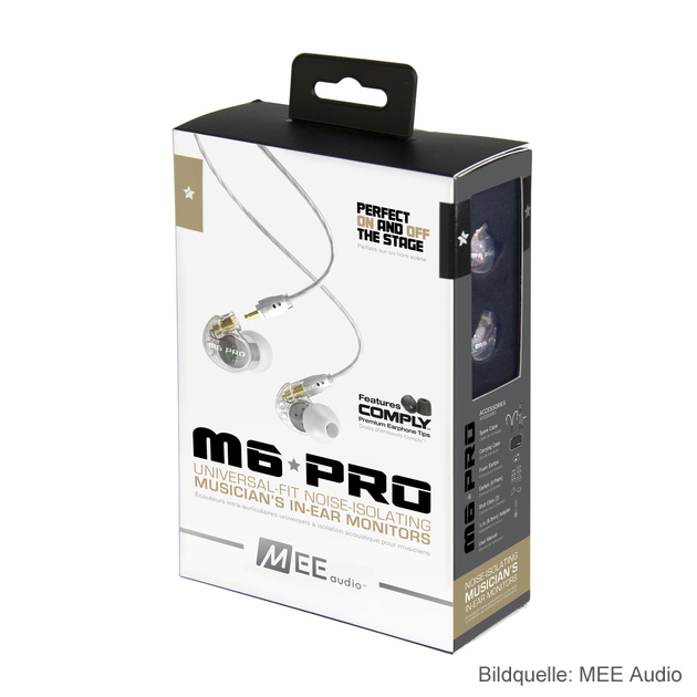 MEE Audio M6 Pro In-Ear Kopfhörer Package
