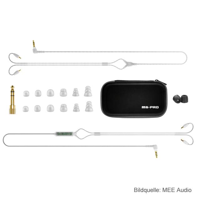 MEE Audio M6 Pro In-Ear Kopfhörer Zubehoer