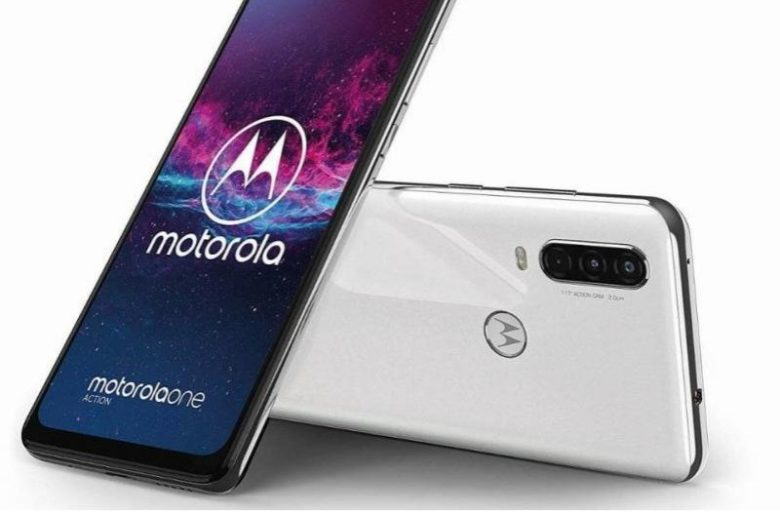Motorola One Action Smartphone mit Ultra-Weitwinkel-Video-ActionCam