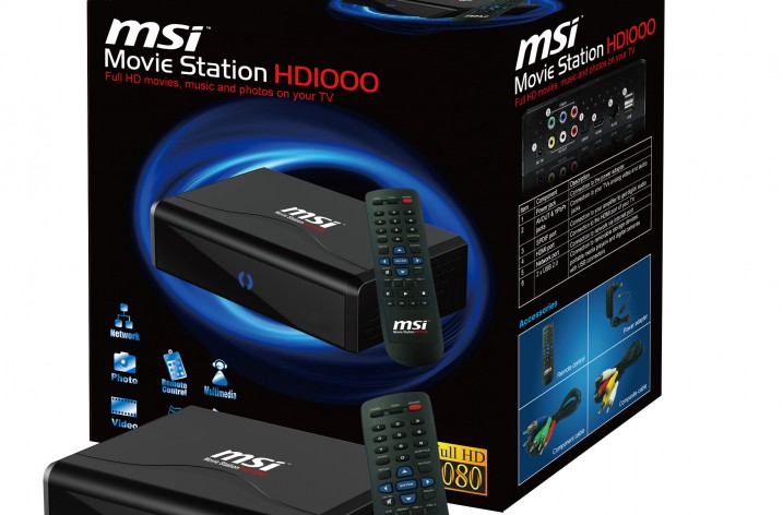 MSI Media Station HD1000 – HDTV Streaming Client