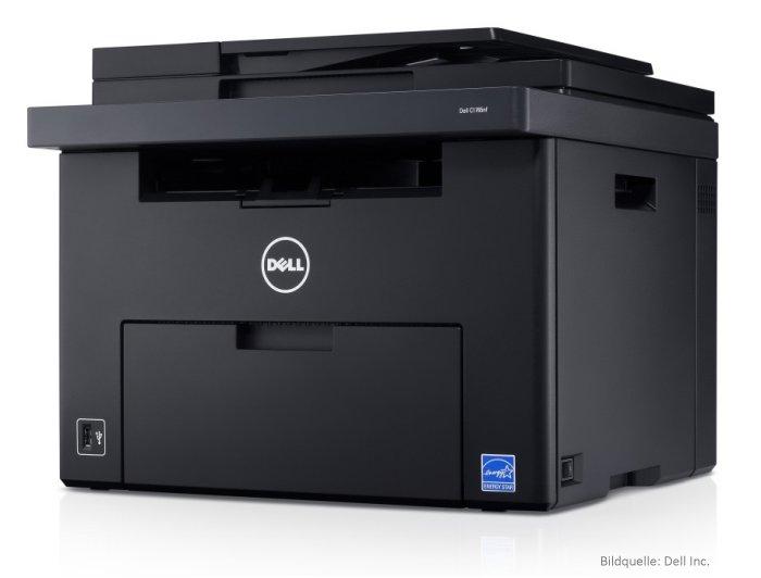 Multifunktions-Farbdrucker-Dell C1765nf