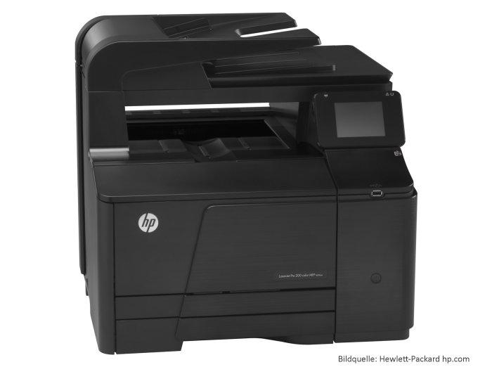 Multifunktions-Farbdrucker-HP-LaserJet-Pro-200