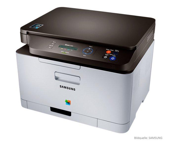 Multifunktions-Farbdrucker-Samsung-Xpress C460W