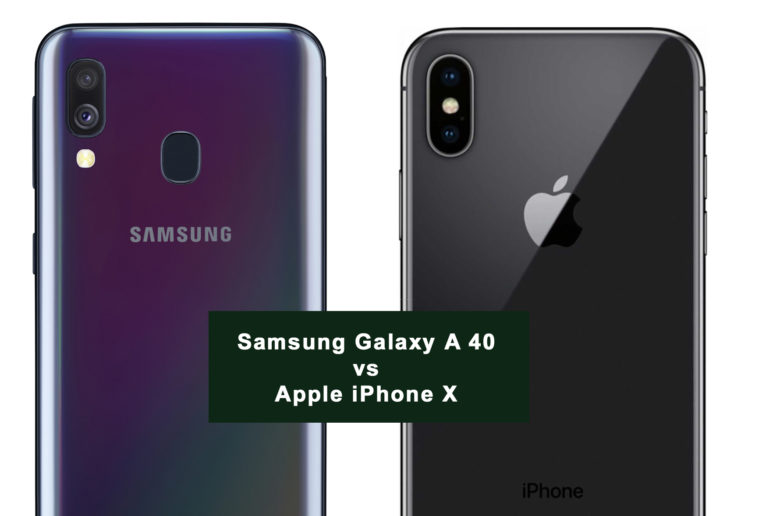 Samsung-Galaxy-A40-vs-Apple