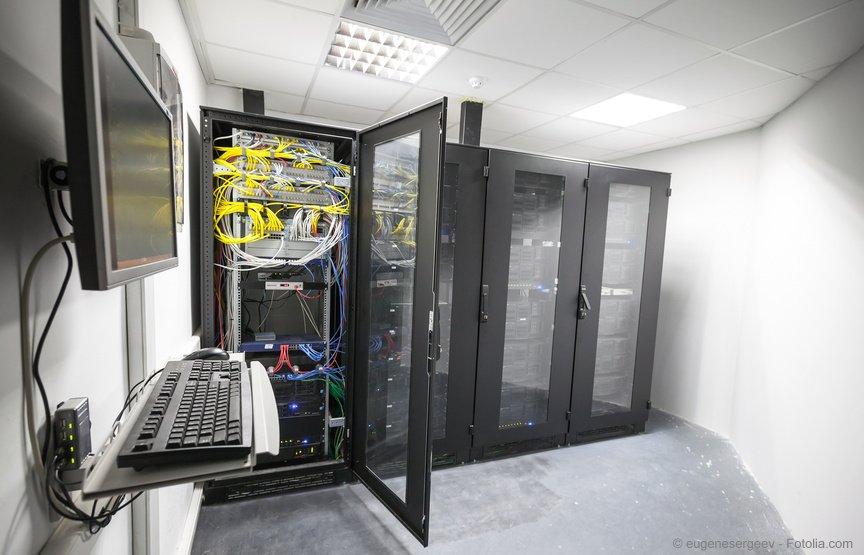 Serverschränke im Unternehmen