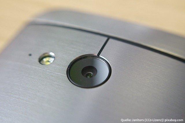Smartphone HTC-Kamera