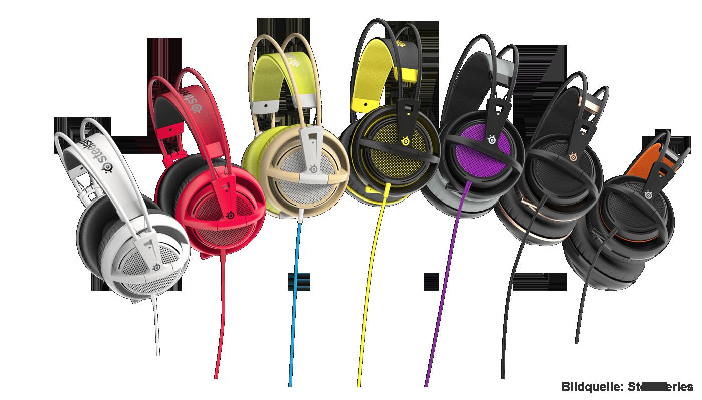 SteelSeries Siberia 200 Gaming-Headset Farben