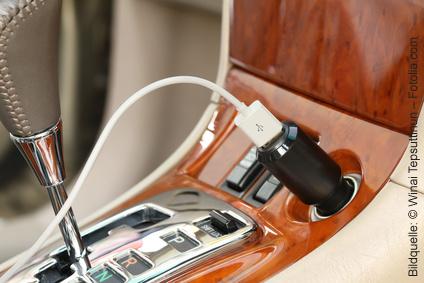 Technik-Gadgets fürs Auto USB-Ladekabel