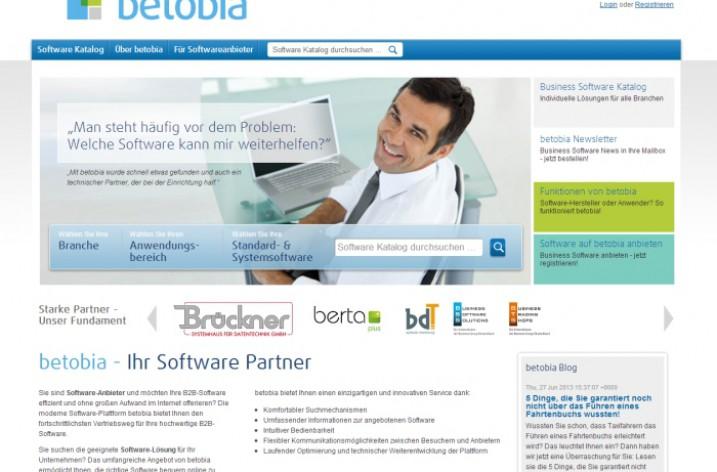 Betobia: Der Marktplatz für individuelle Business Software