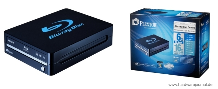 Der Plextor PX-B310U Blu-Ray DVD-Brenner im Test.