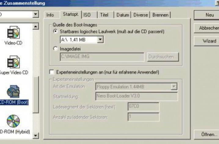 Windows XP Boot-CD erstellen und brennen