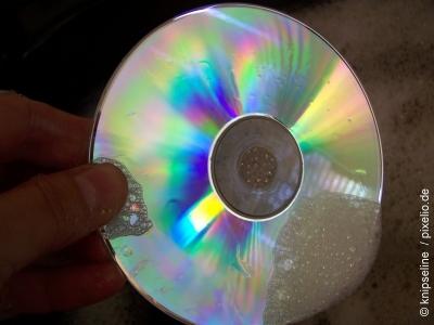 Reinigung und Pflege von CD-Rohlingen, DVD-Rohlingen und Blu-Ray Rohlingen