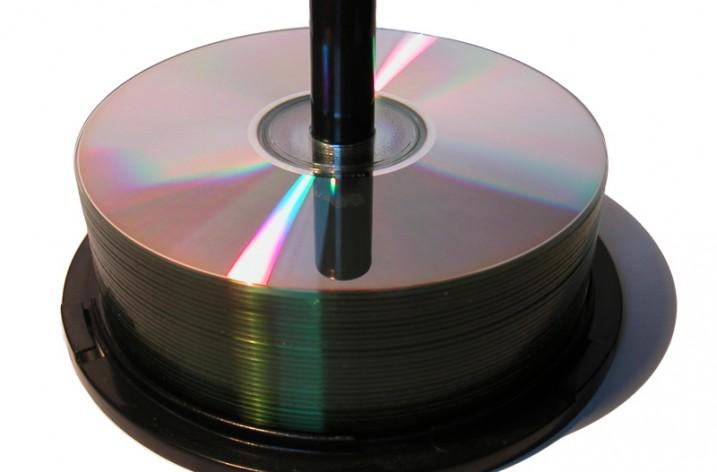 Daten-Schrott durch Klebeetiketten auf DVDs