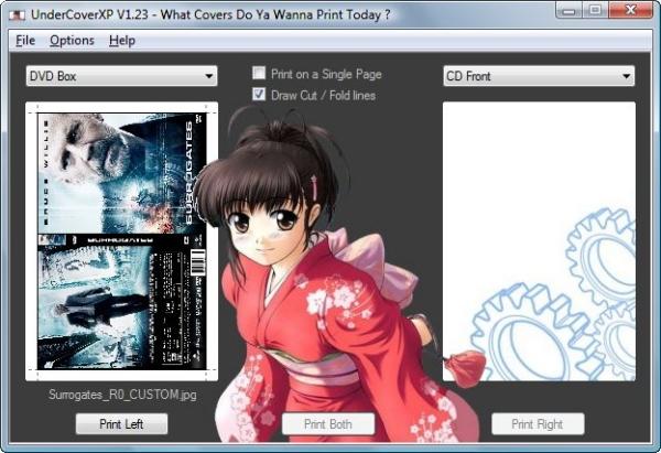 Kostenlose Cover-Software zum Erstellen von CD und DVD Covern.