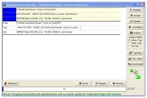 Mit MP3Finde lassen sich doppelte MP3 Dateien finden