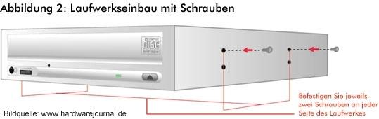 DVD Brenner Installation Bild 2