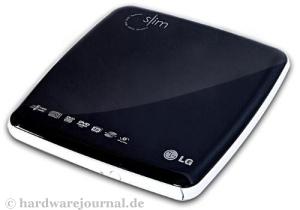 Der LG GP08LU ist ein externer DVD-Brenner mit USB-Anschluß