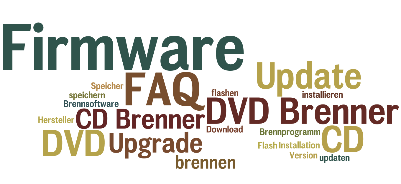 Download von Firmware Updates für DVD-Brenner