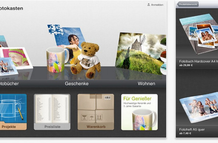 Fotobuch erstellen: Kostenlose iPad-App von fotokasten.de im Test