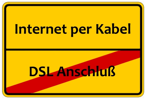Internet über Kabel - Die Alternative zu DSL?