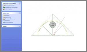 MB-Ruler das Desktop Geodreieck für den PC