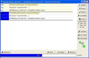 Doppelte MP3-Dateien mit Mediapurge finden und löschen