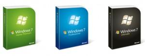 Microsoft Windows 7 Versionen