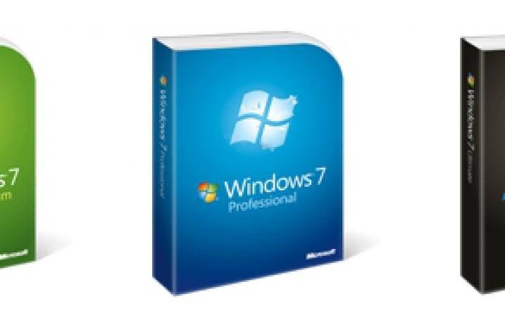 Windows 7 – Versionsübersicht
