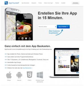 mobile Apps erstellen mit Appyourself