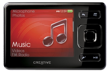 MP3-Player Creative ZEN im Test