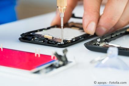 Professionelle Handy & Tablet Reparatur in der Spezialwerkstatt