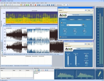 Audio-Bearbeitungsprogramm Acoustica 4.0
