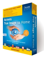 Backup-Software Acronis True Image Home 11 im Test.