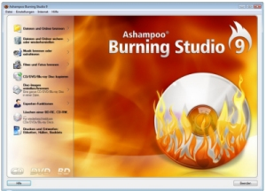 Die Brennsoftware Ashampoo Burning Studio 9 im Test.