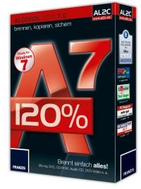 Brennsoftware Alcohol 120% 7 im Test